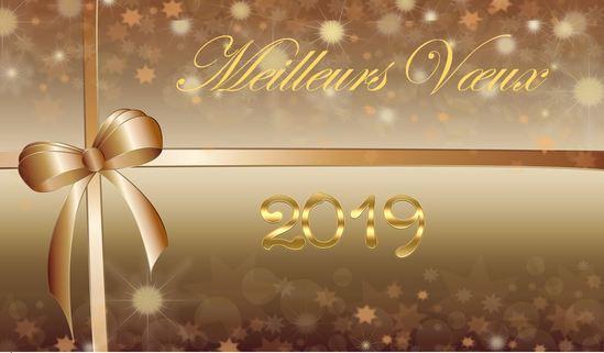Meilleurs vœux pour l'année 2019