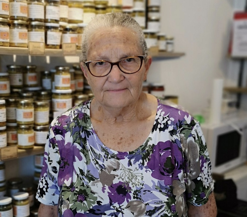 Arlette Hoarau, agricultrice aux Avirons
