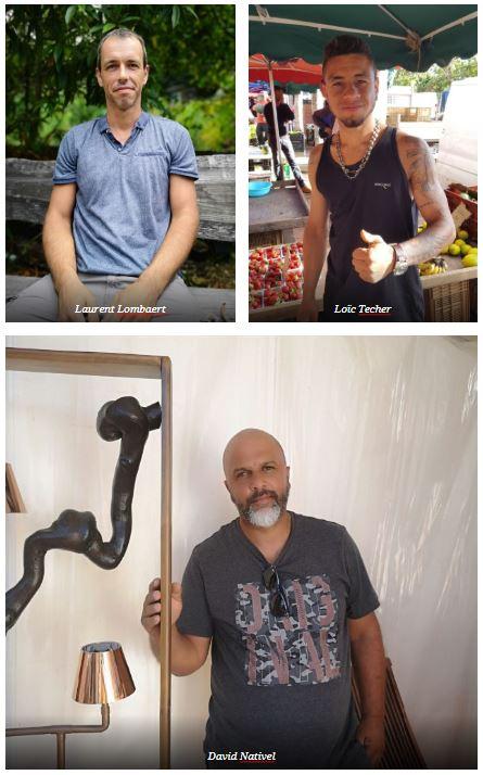 Laurent, David et Loïc sont les nouveaux vendeurs de la semaine !