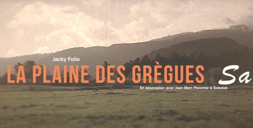 Jacky Folio – La Plaine Des Grègues Sa
