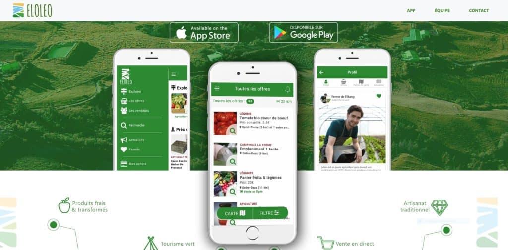 ELOLEO : L'application mobile s'étend à l'ensemble des producteurs de l'île