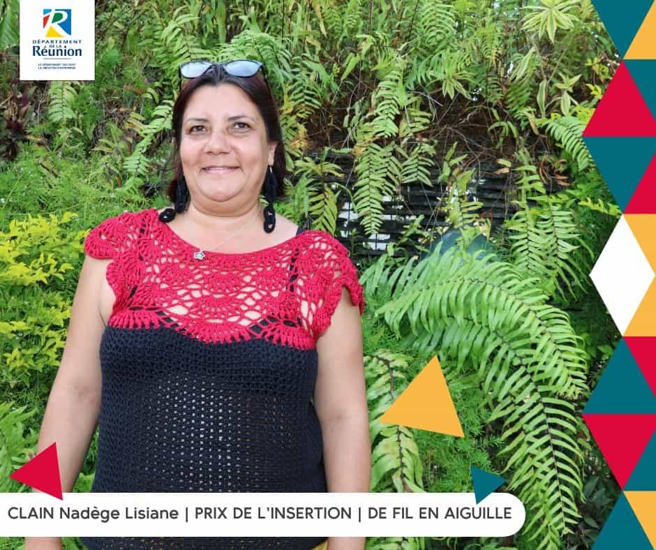 CLAIN Nadège Lisiane – Finaliste du Challenge des Créateurs 2019 – Prix de l'insertion