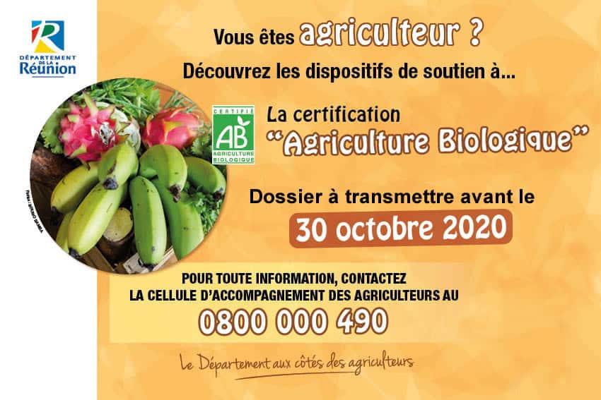 Soutien à la certification Agriculture Biologique